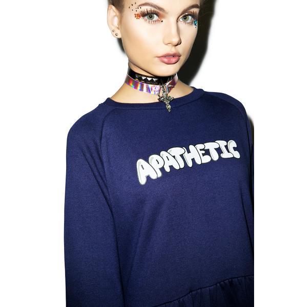 Lazy Oaf Apathetic Sweater Dress