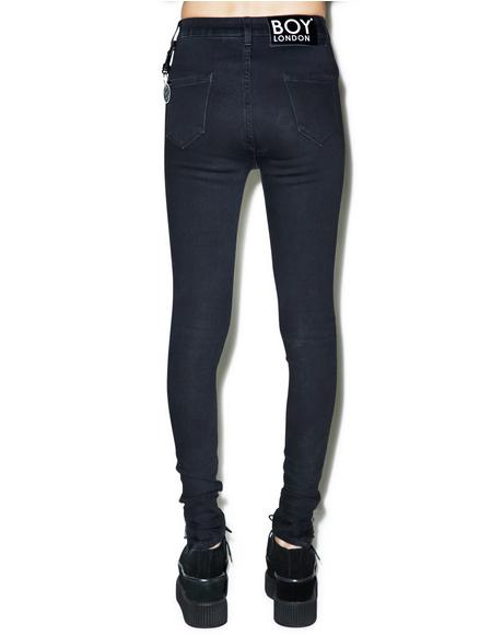 Boy High Waist Skinny Jeans