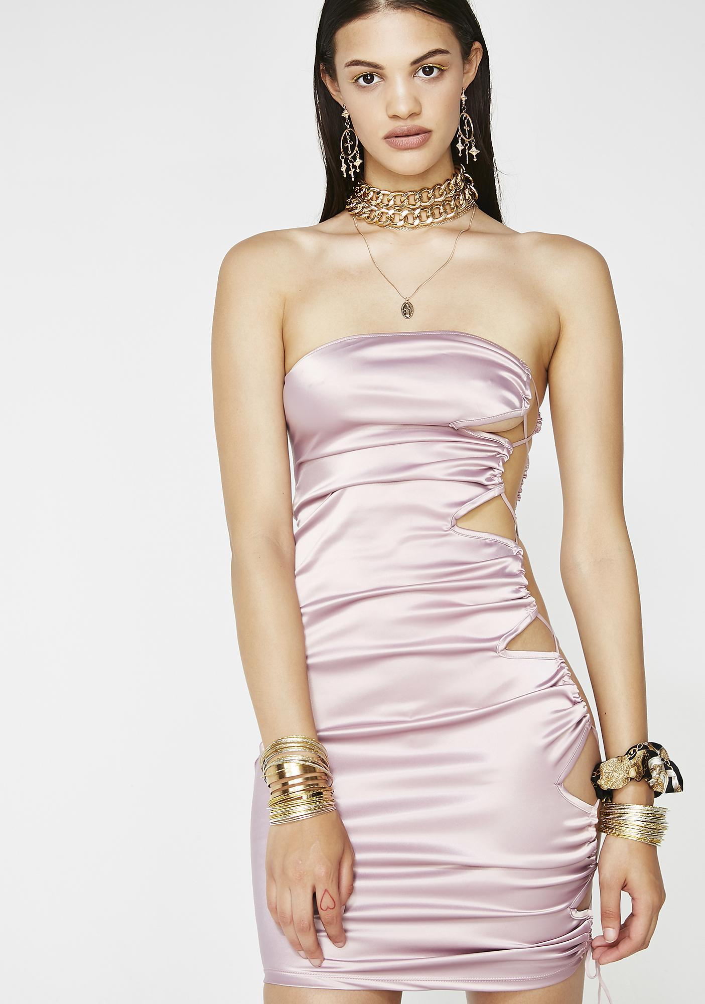 Got It Like That Satin Dress