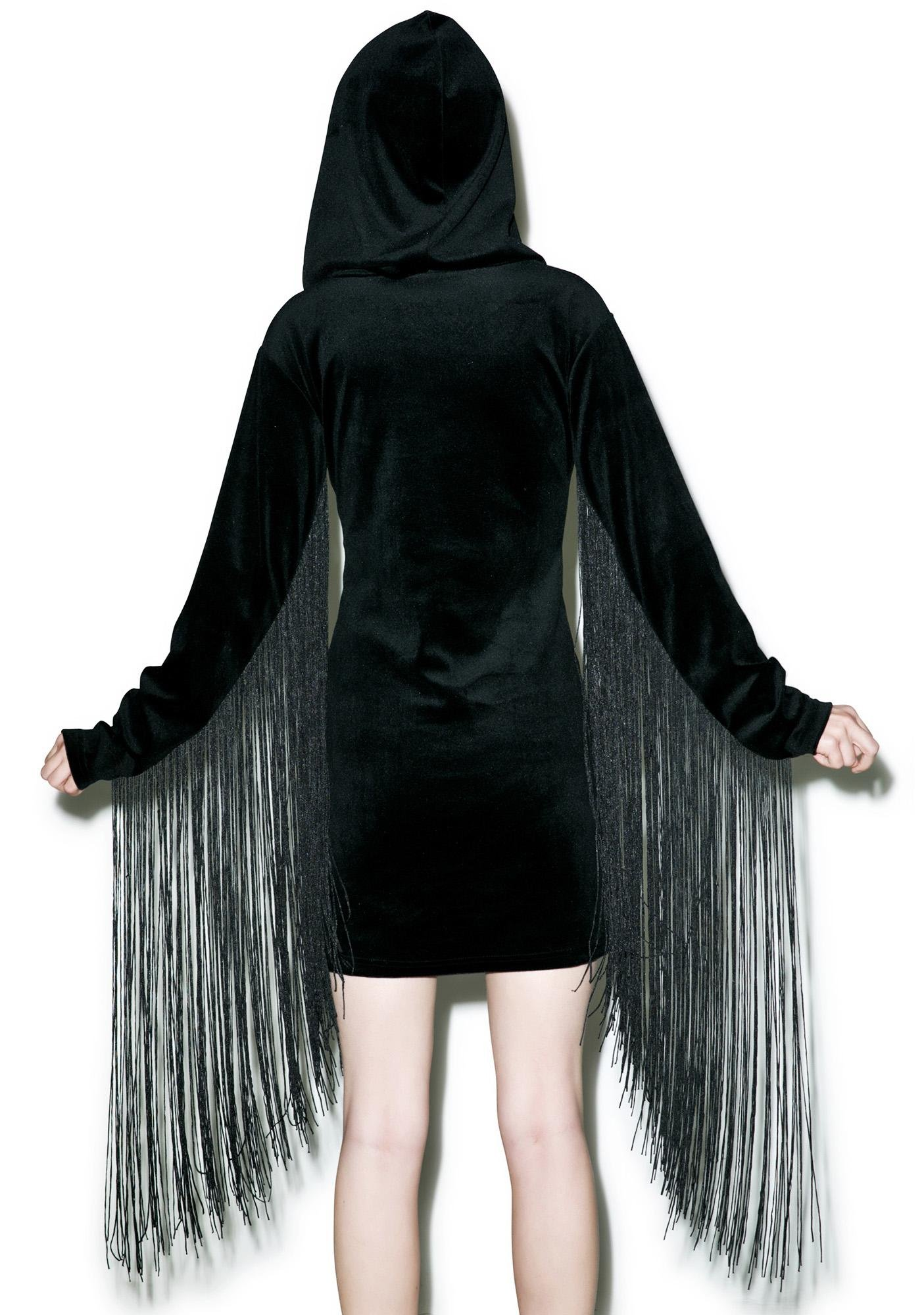 Killstar Lonewolf Velvet Dress