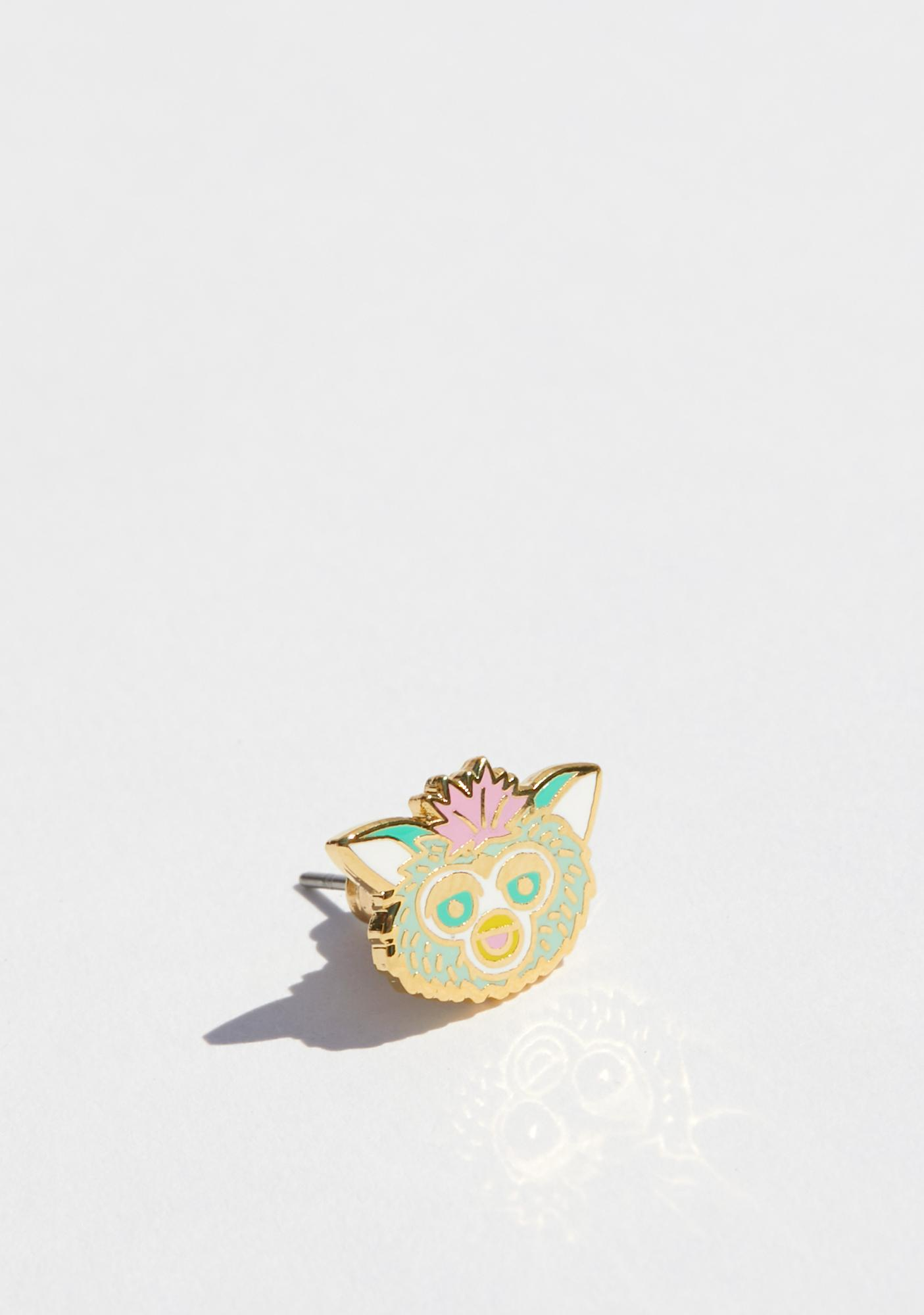 Yellow Owl Workshop 90's Cell & Furby Earrings