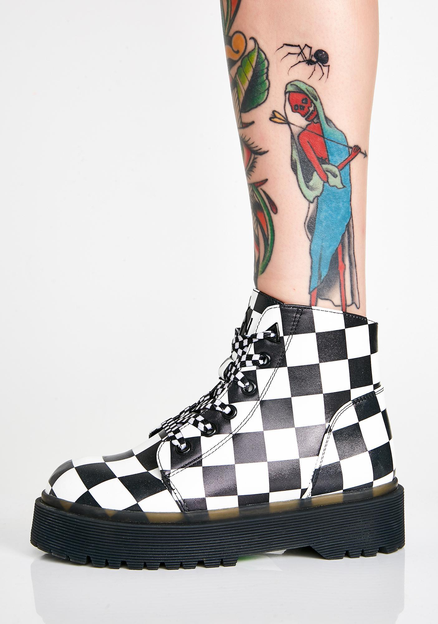 Y.R.U. Slayr Check Boots