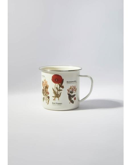 Back To The Wilderness Enamel Mug