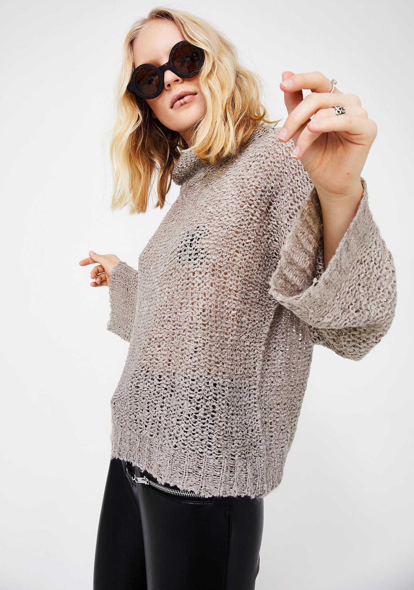 Lose My Head Sheer Sweater