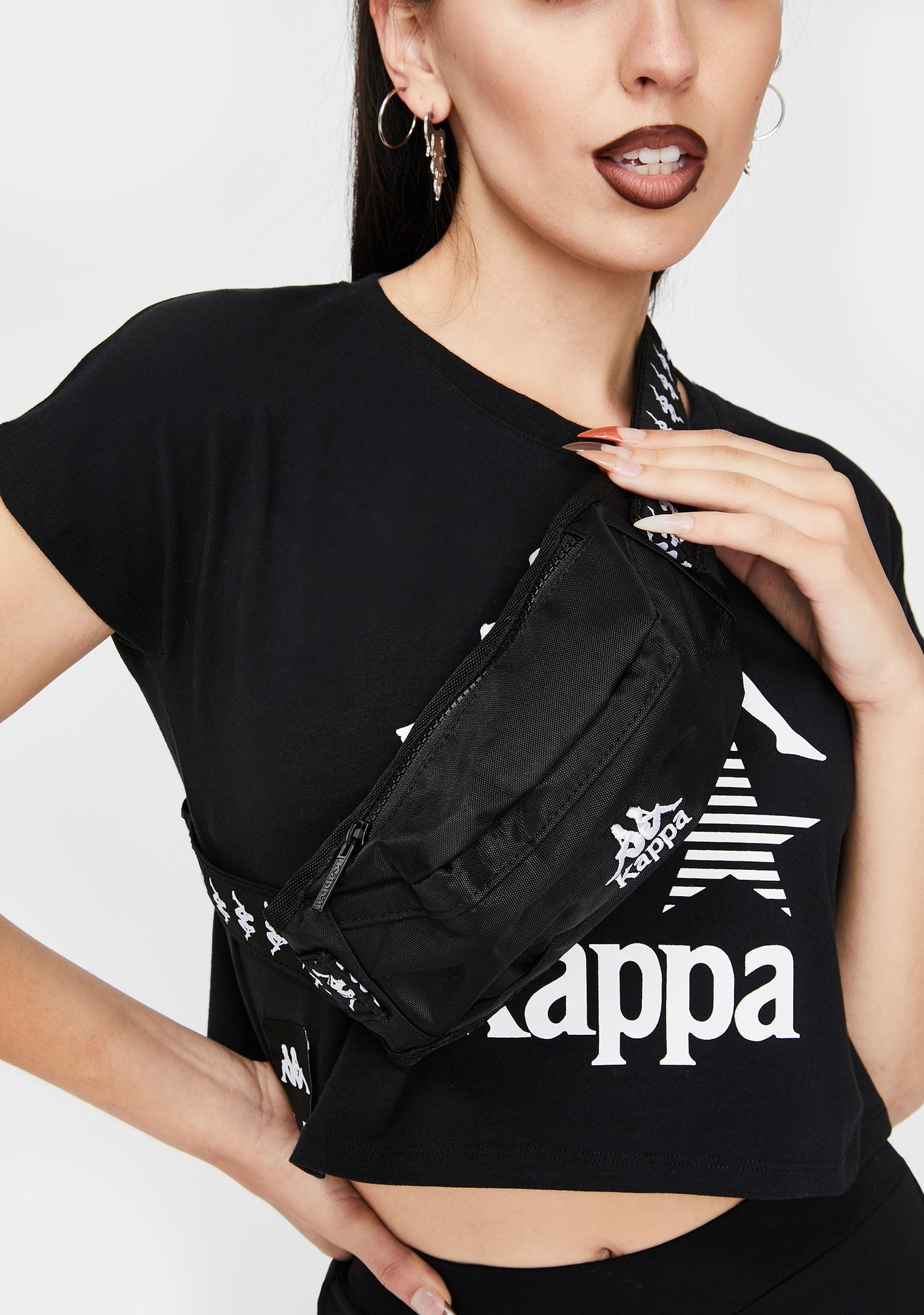 Kappa Black 222 Banda Anais Fanny Pack