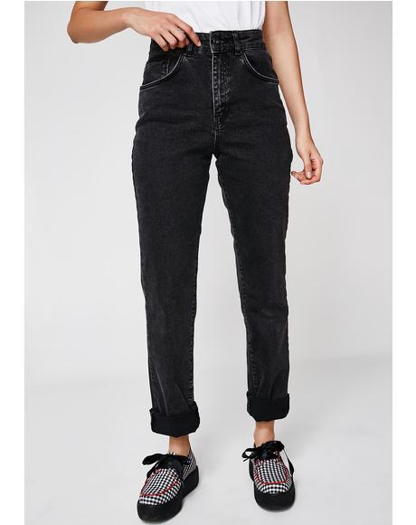 Double Butt Cut Jeans
