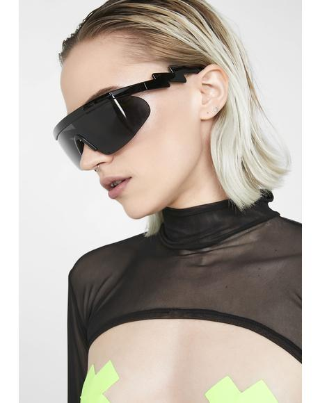 Night Turbo Thot Shield Sunglasses