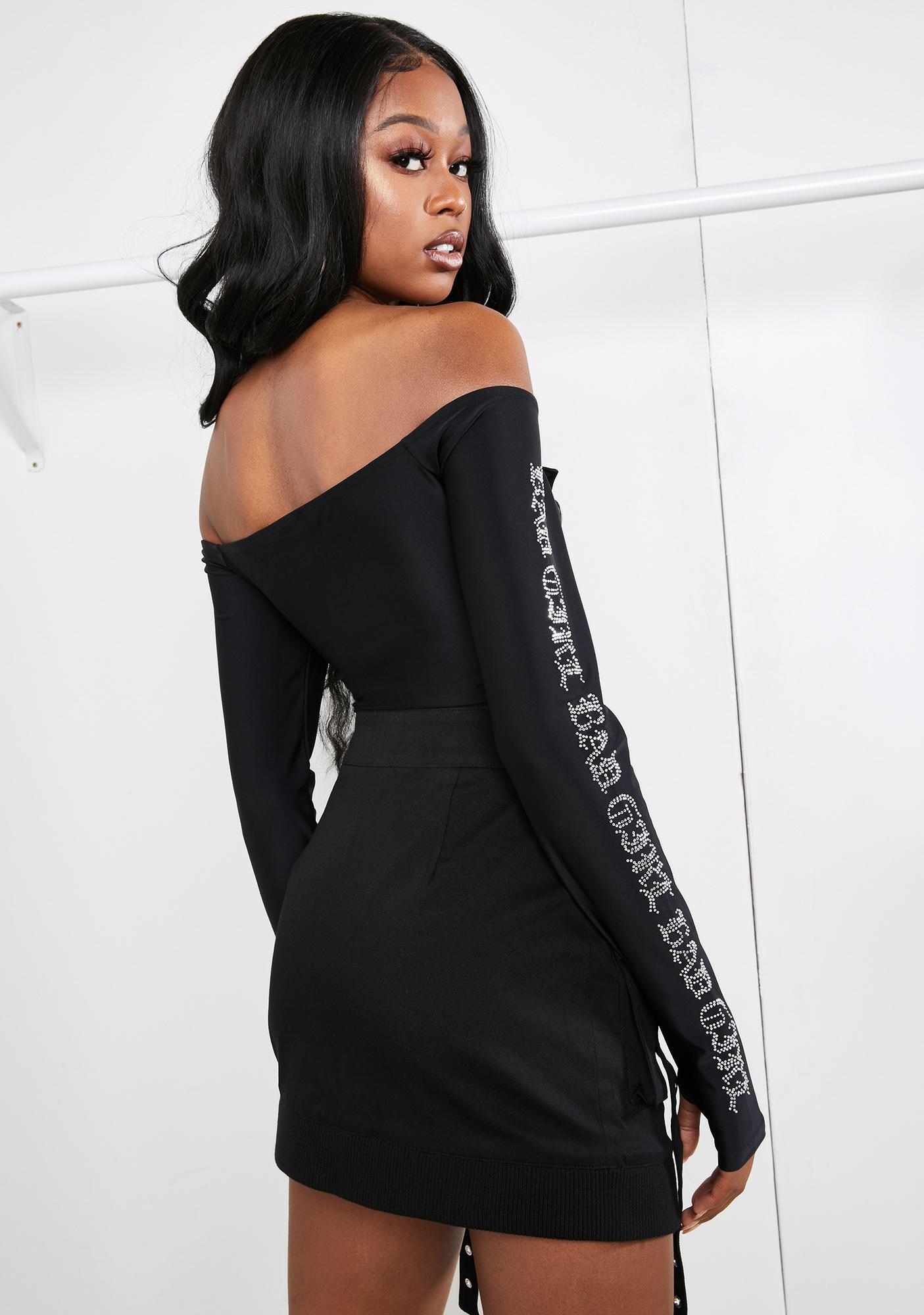 Poster Grl Diva Download Off The Shoulder Bodysuit