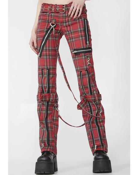 Printed Bondage Pants
