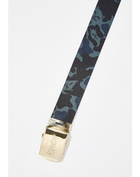 Blackout Nerm Camo Web Belt