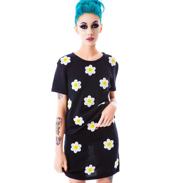 Sunless Garden Knit Skirt