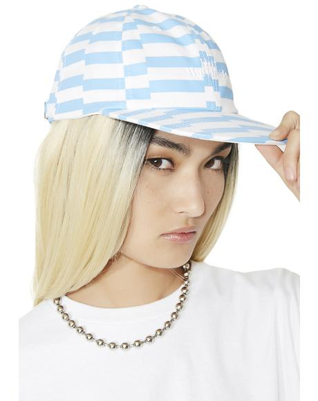 Offset Stripe 6 Panel Hat
