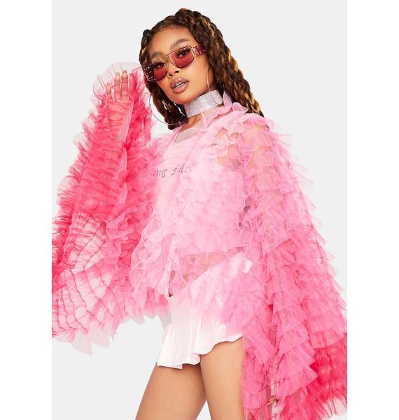 Hot Main Attraction Ruffle Jacket