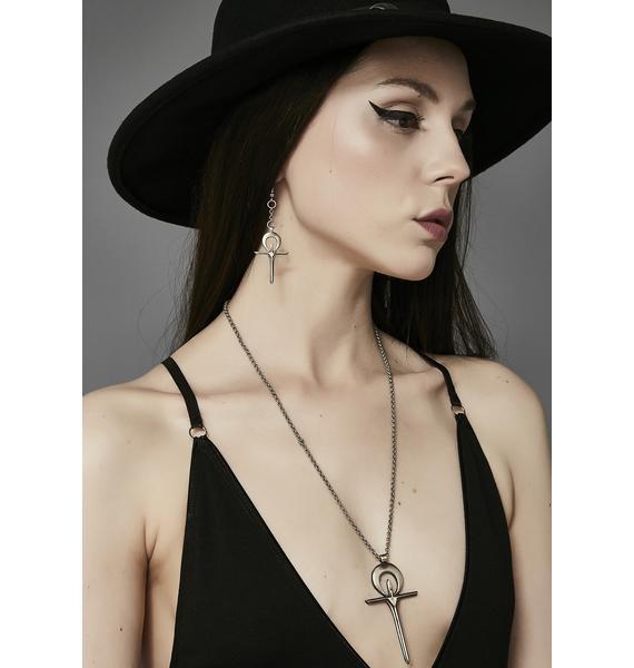 Acid Queen Jewelry X Widow Immortal Souls Earrings