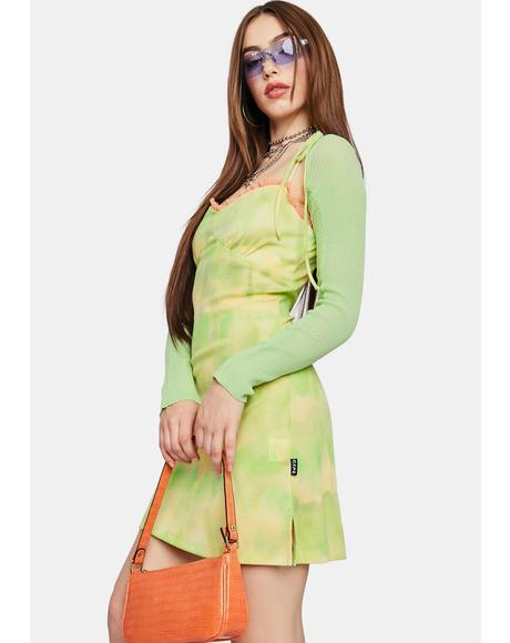 Green Bolero Cardigan