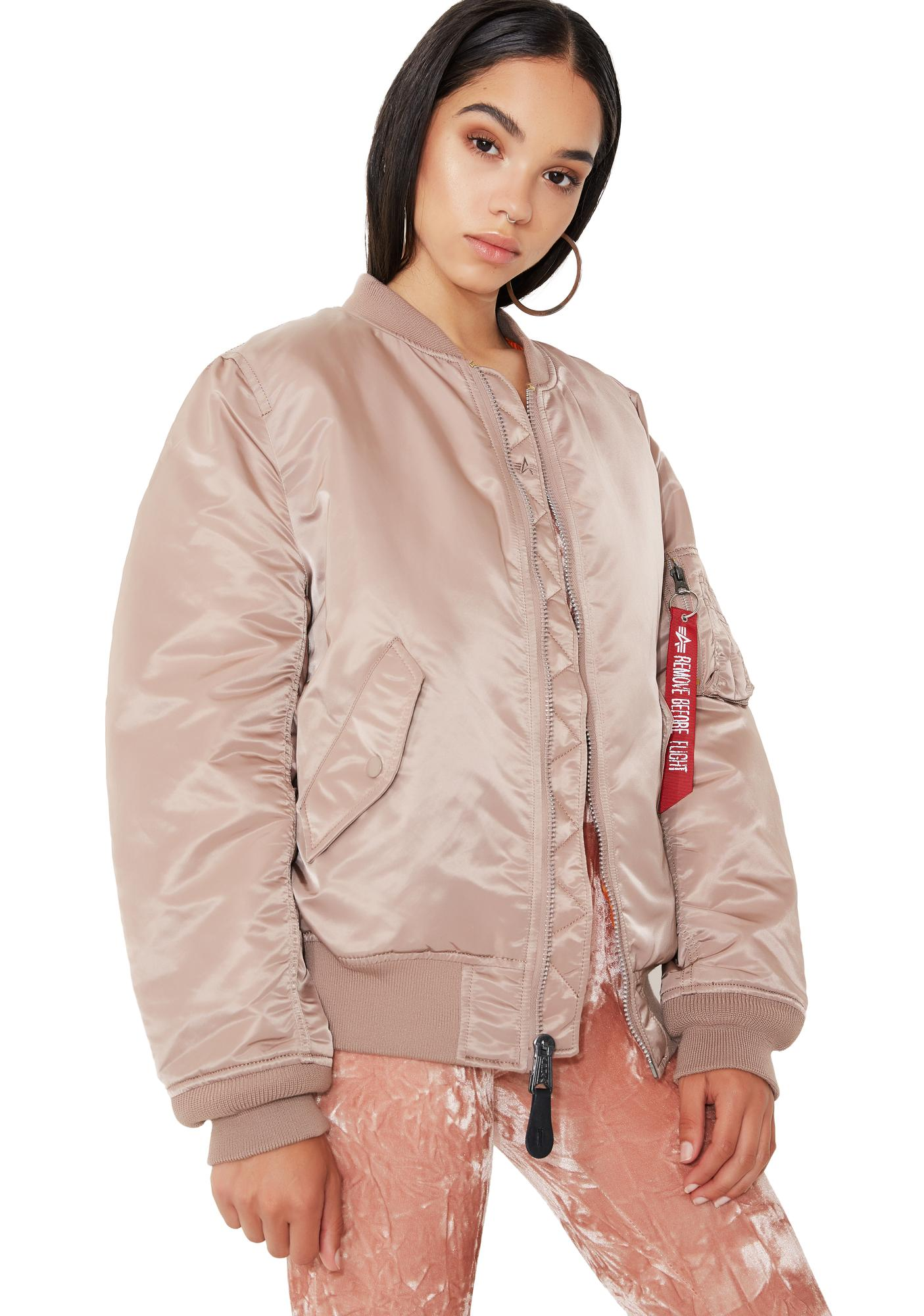 Alpha Industries MA-1 W Flight Jacket