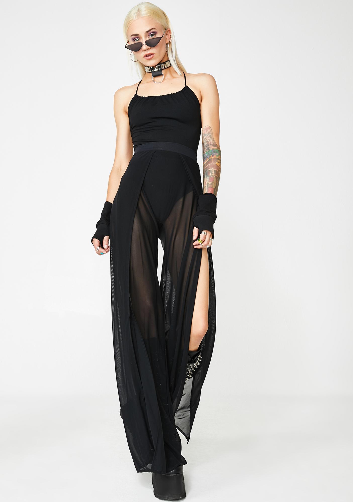Wicked Straight Sass Strappy Bodysuit
