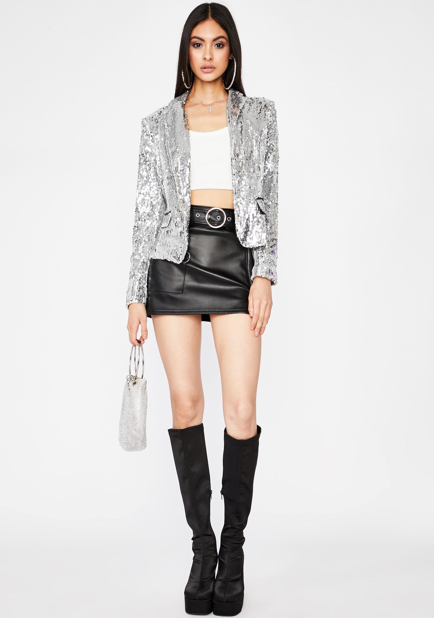 Show Biz Sequin Blazer