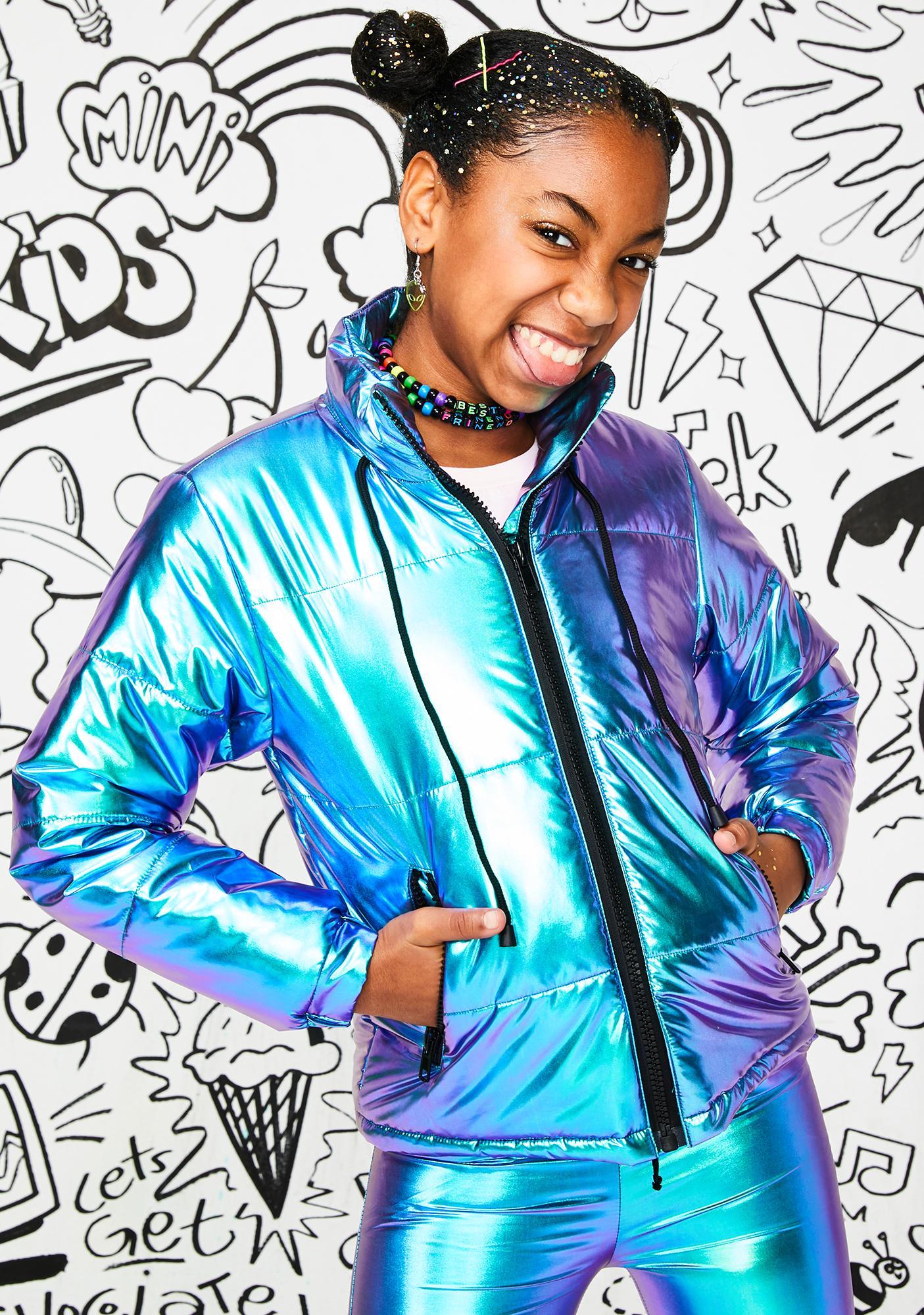 Club Exx Kids Space Bae Escapade Puffer Jacket