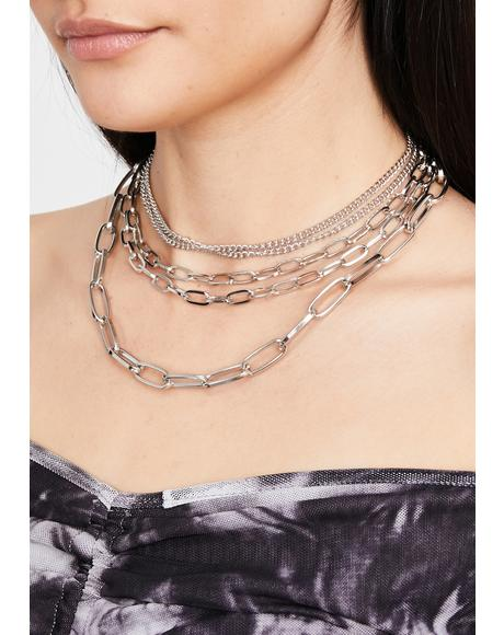 Damage Control Chain Necklace