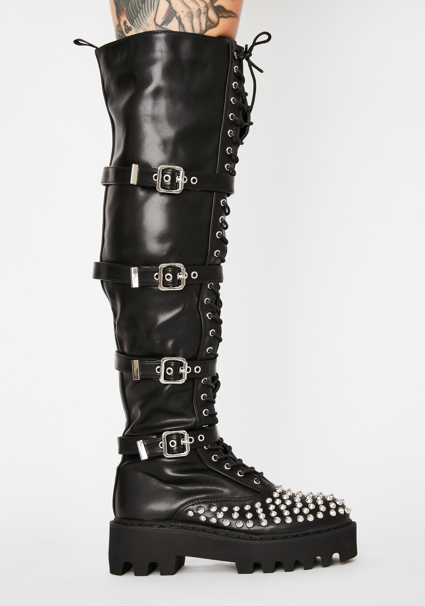 Lamoda No Stylist Knee High Boots