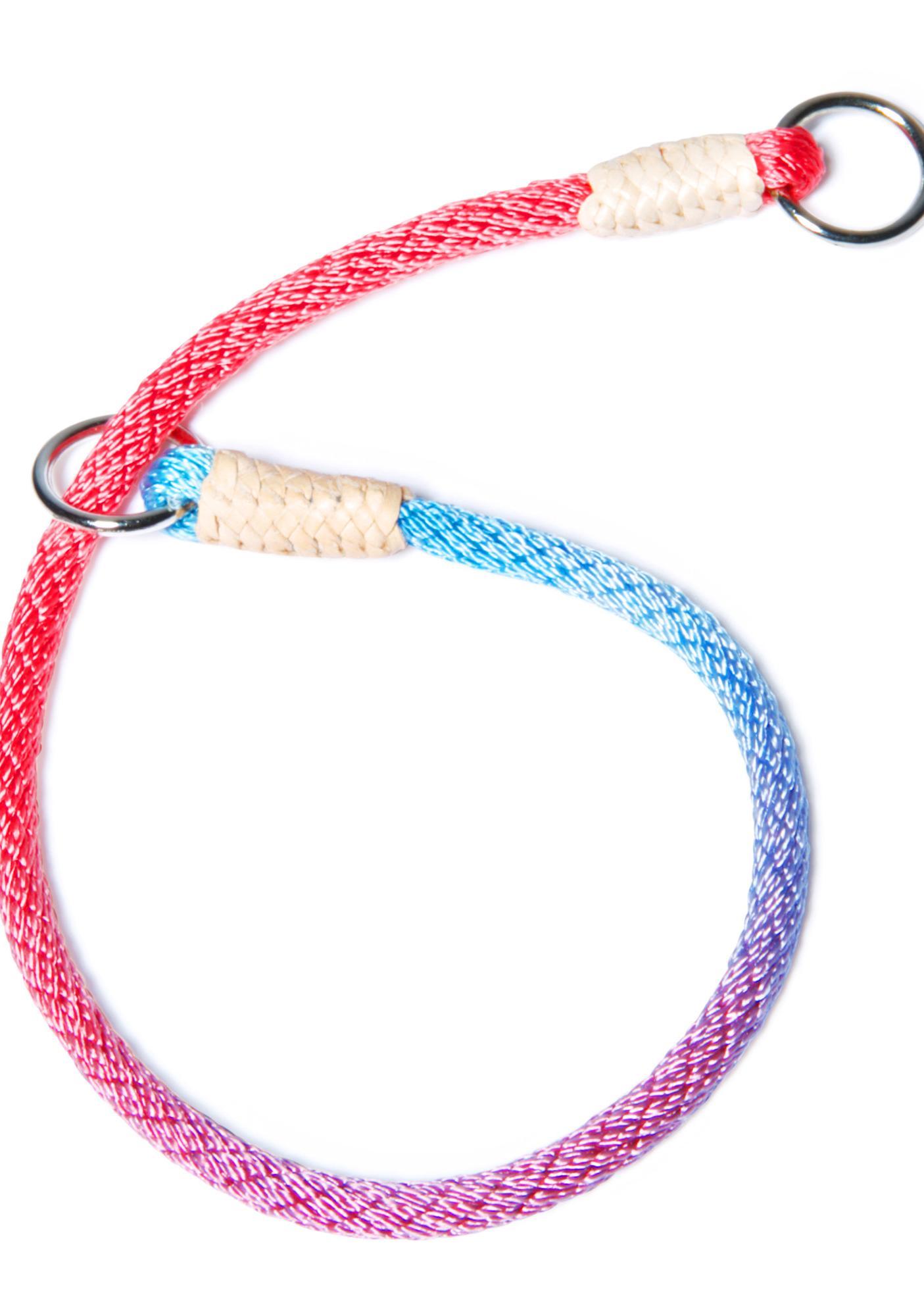 Chasing Rainbows Slip Collar