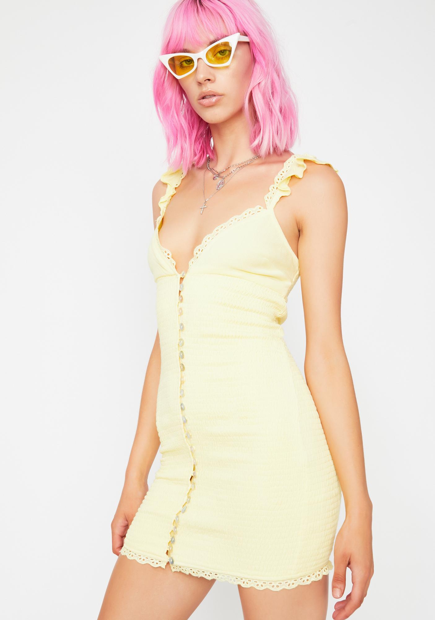 Honey Bliss Smocked Dress