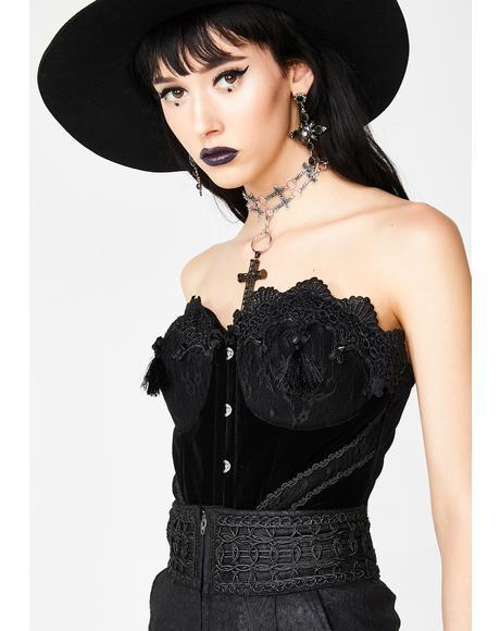 Gothic Gorgeous Lace Corset