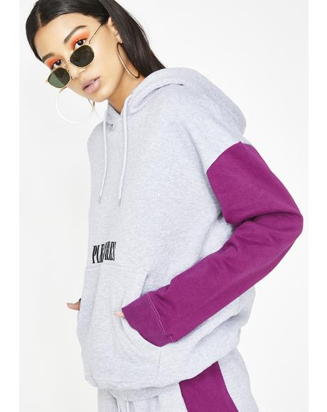 Split Color Hoody