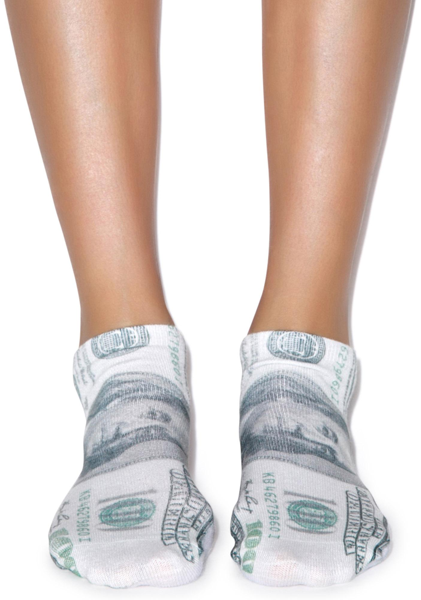 All About The Benjamins Ankle Socks