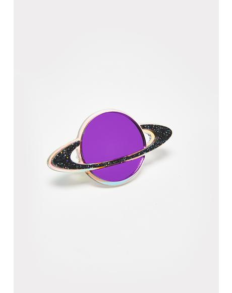 Holographic Saturn Ring