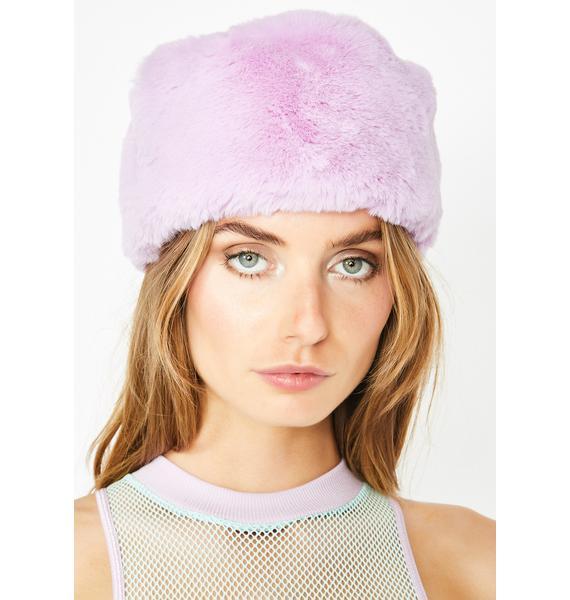 Club Exx Ice Dream Furry Hat