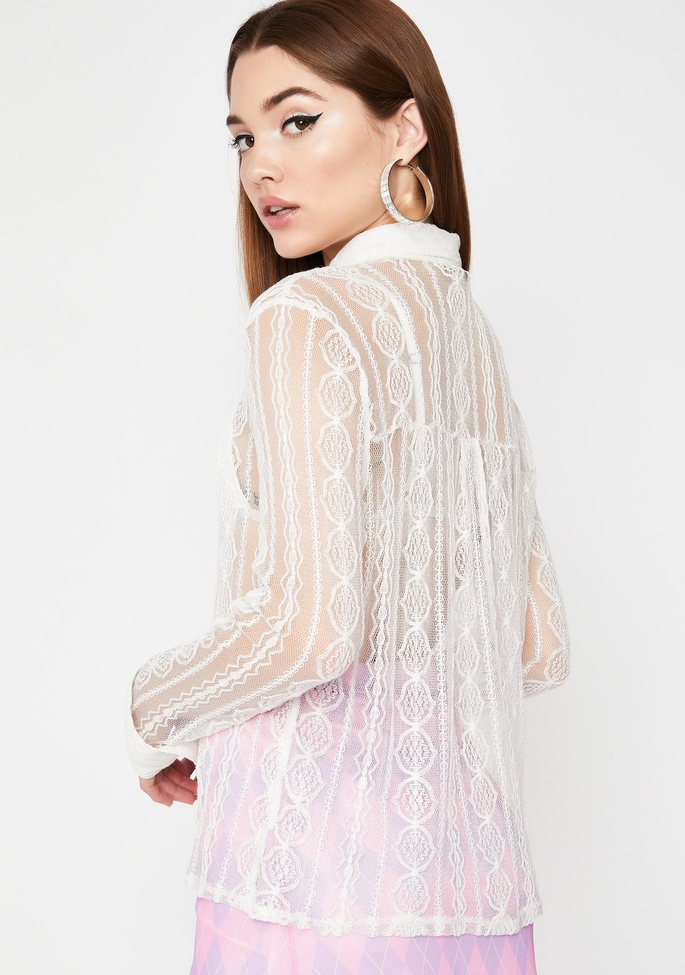 Pretty Perfect Sheer Blouse