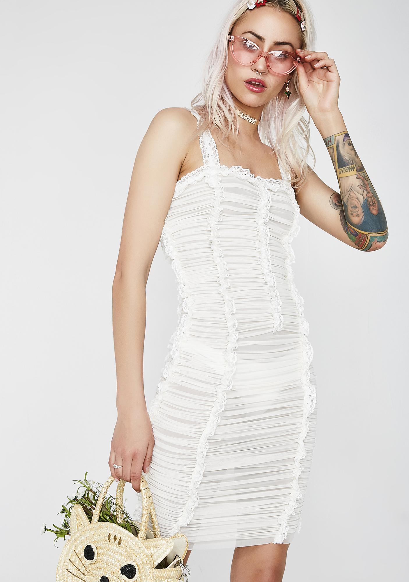 Kiki Riki Wifey Material Slip Dress