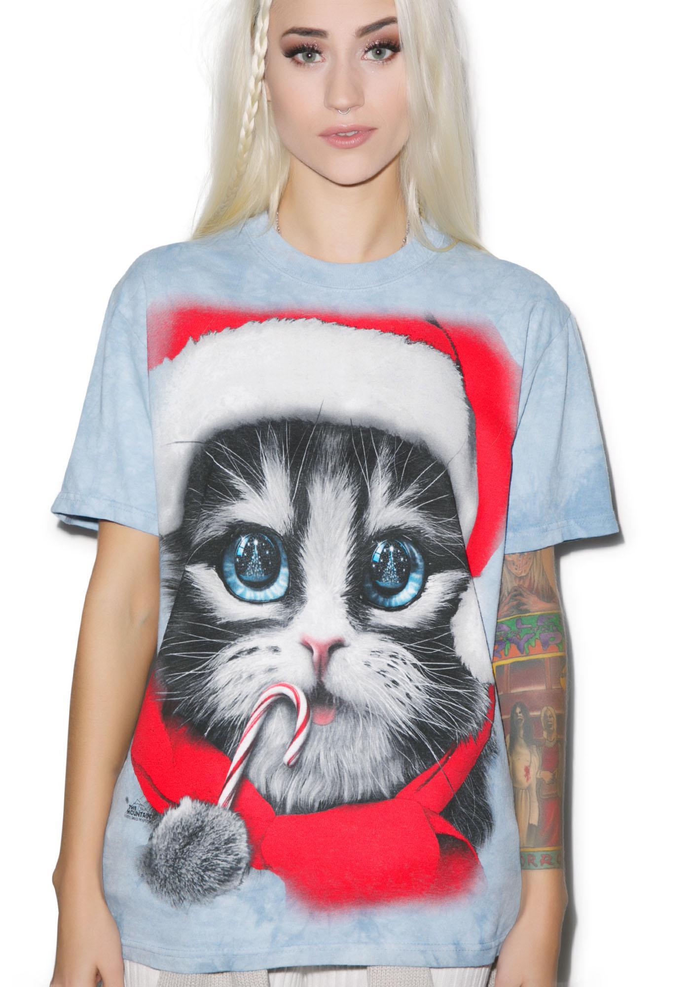 Xmas Kitty Tee
