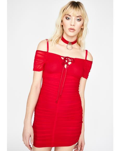 Hot Divine Thang Mini Dress