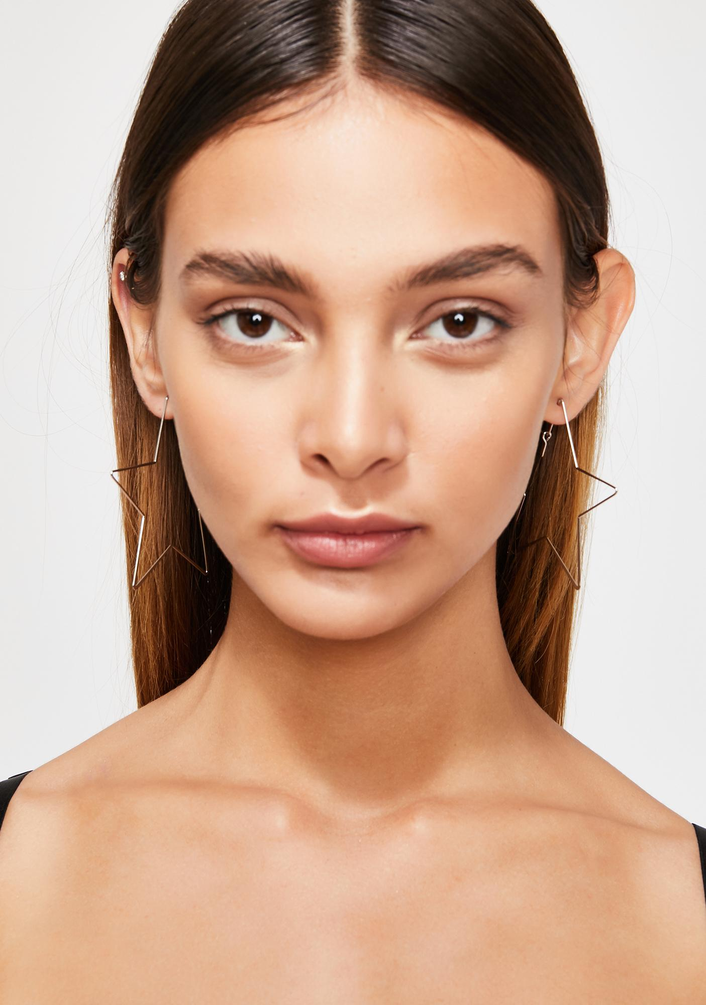 Fortune Fame Star Earrings