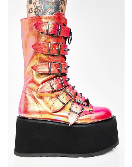 Sunset Prizm Heist Buckle Boots