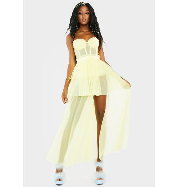 For Love & Lemons Sunshine Maxi Dress