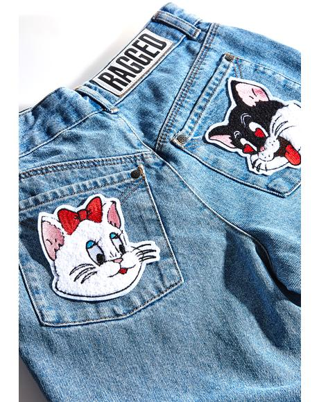 Love Cats Patch Set