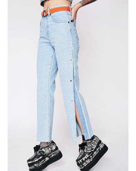 Popper Jeans