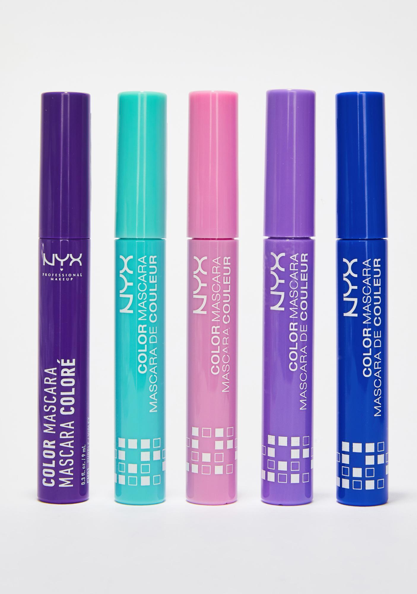 NYX Blue Color Mascara