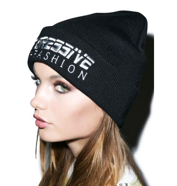 Joyrich Progressive Embroidered Beanie