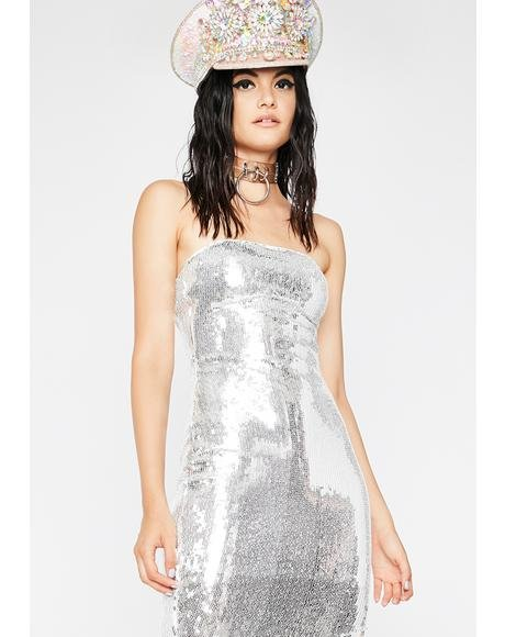 Disco Flaunt Sequin Dress
