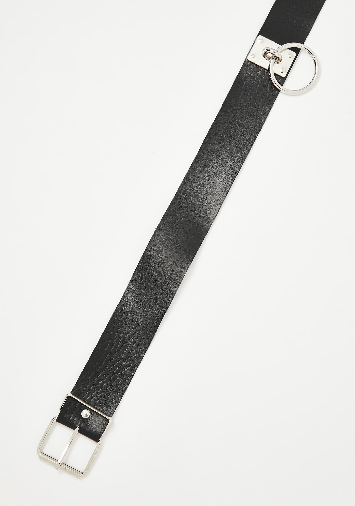 Potentially Dangerous O-Ring Belt