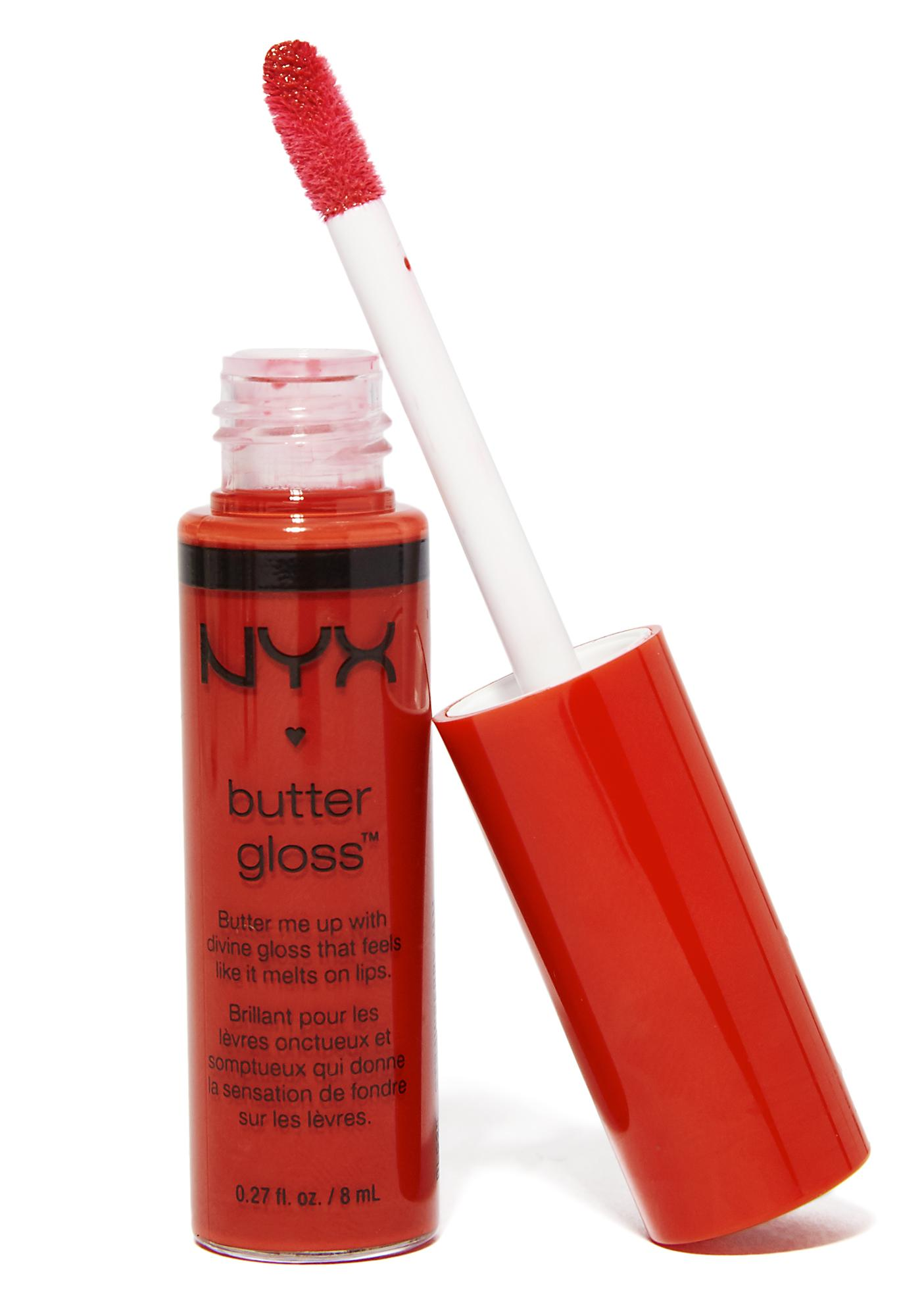 NYX Strawberry Jam Butter Gloss