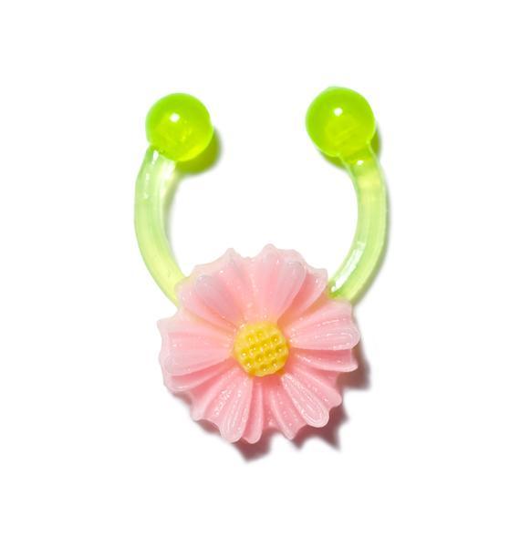 Flower Power Septum Clip