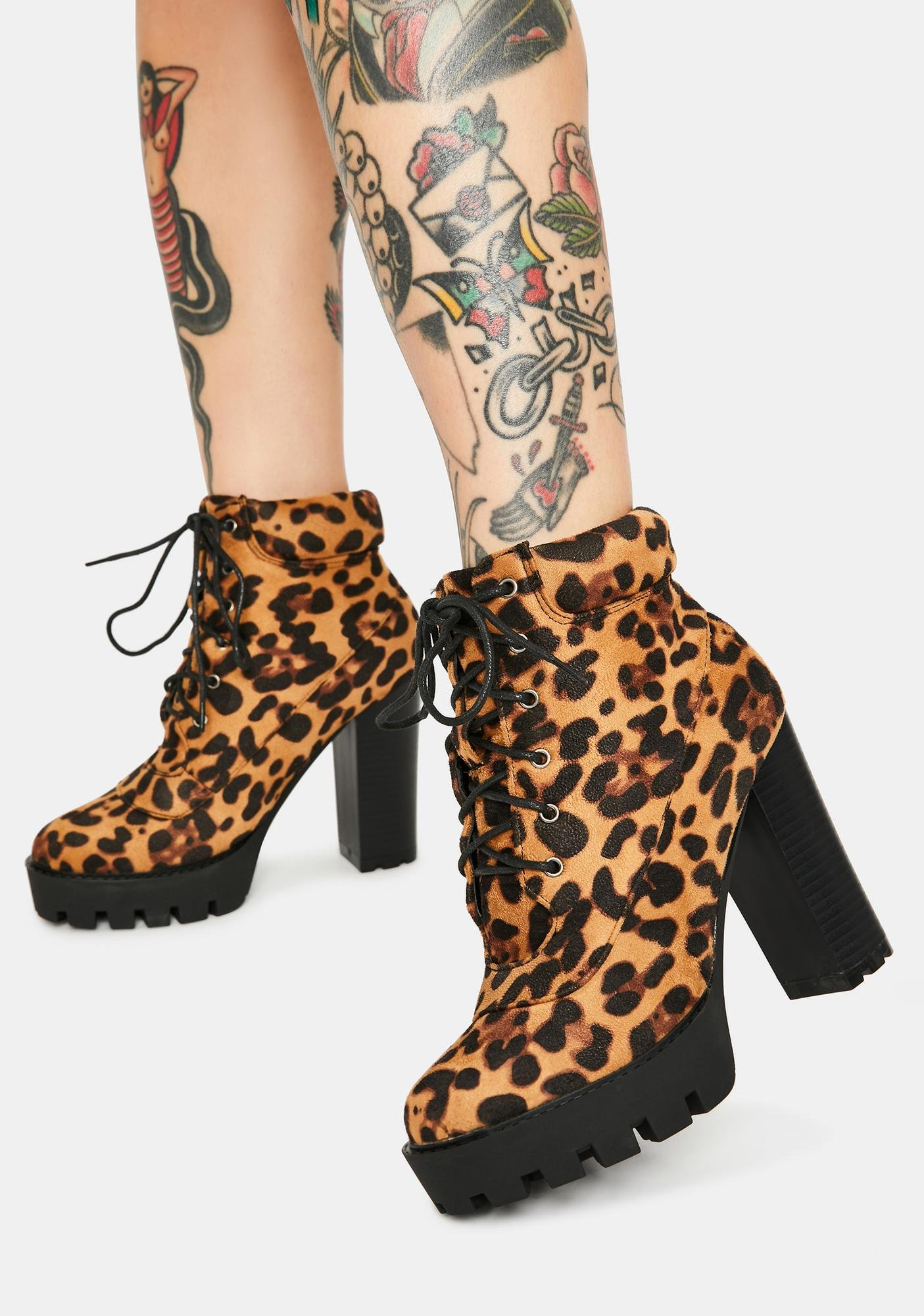 Leopard Wherever You Are Ankle Booties