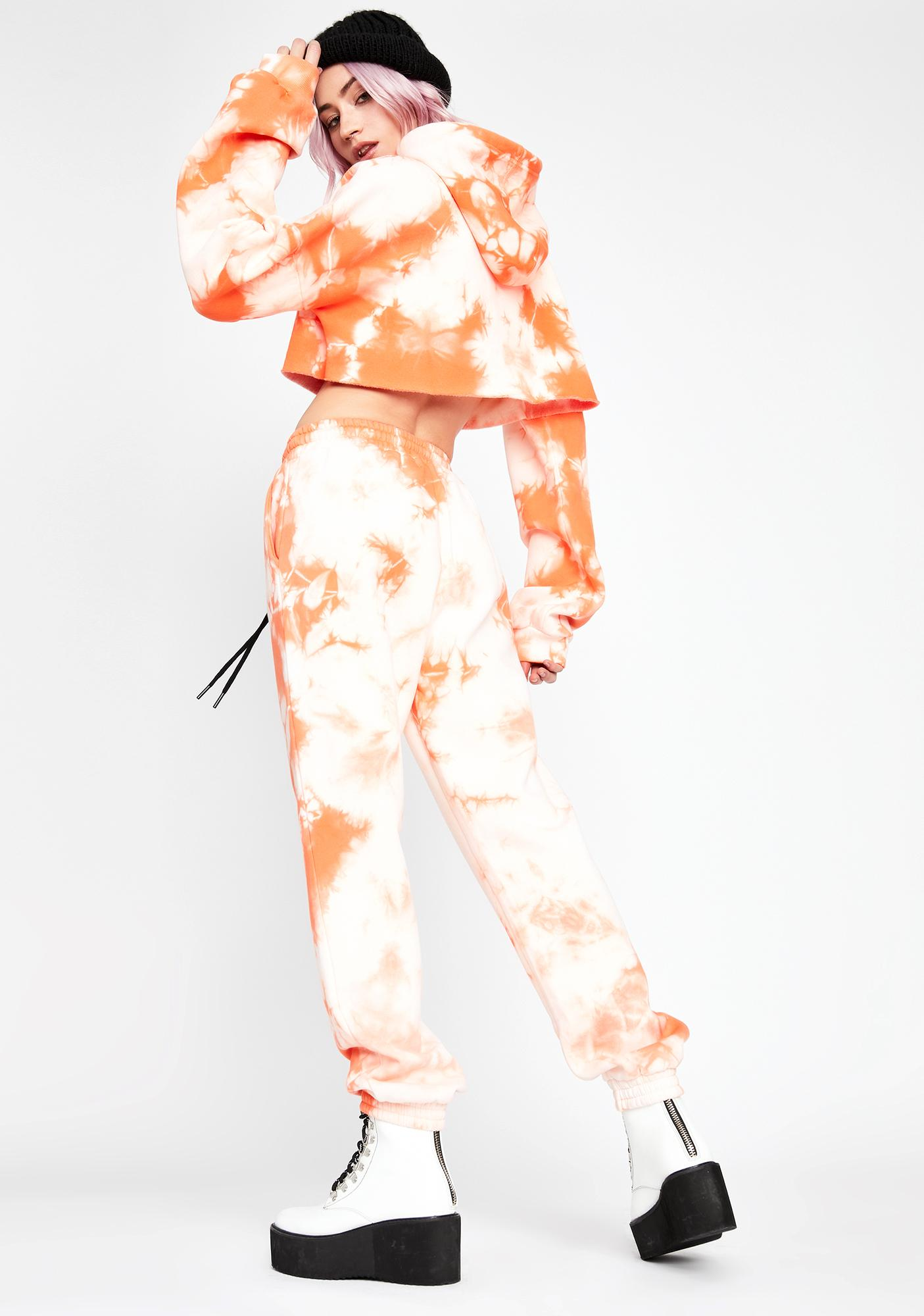 Current Mood Juicy Fresh Tie Dye Sweatpants