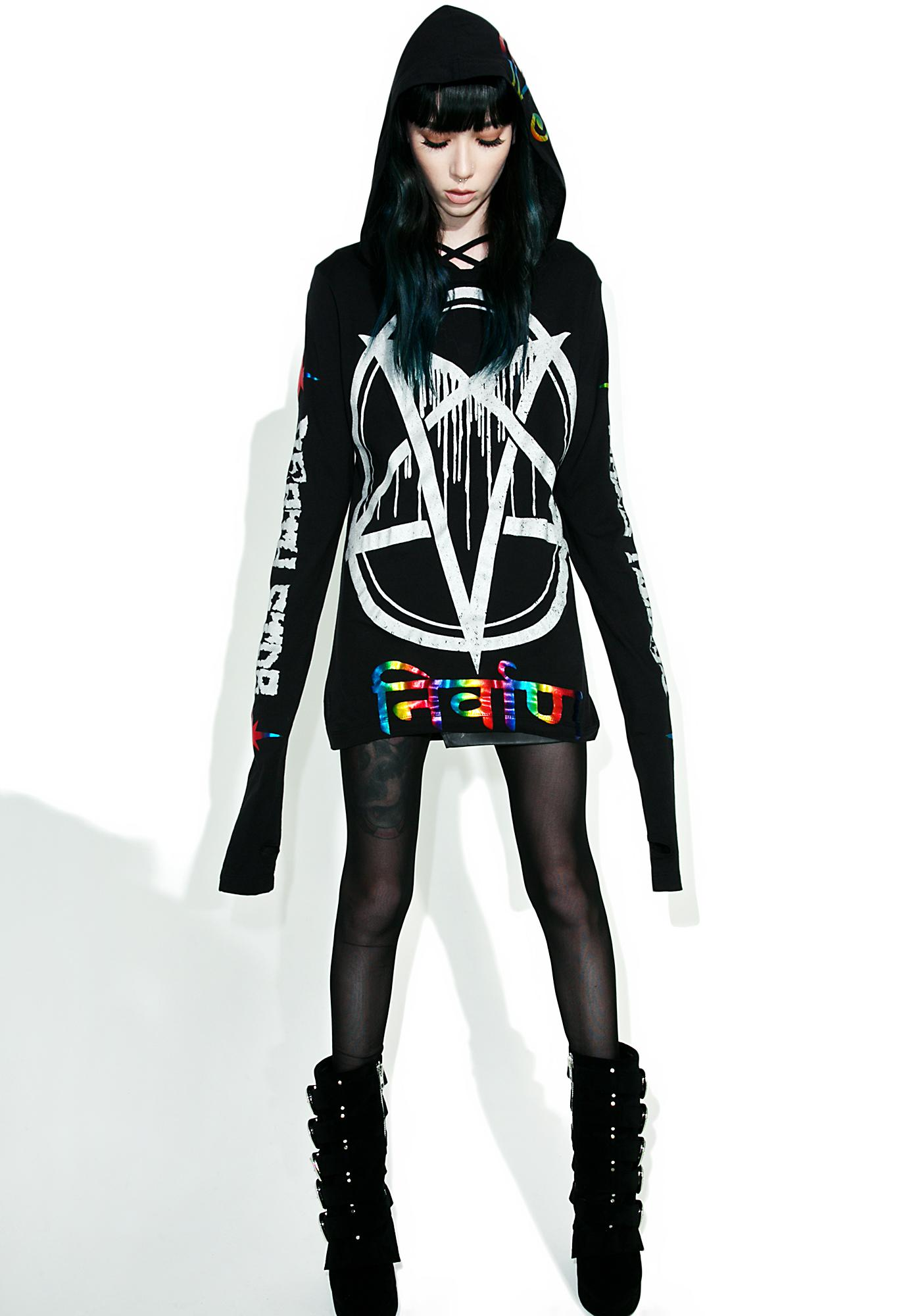 Current Mood Pentagram Hoodie
